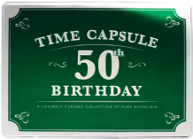 50th Birthday Time Capsule
